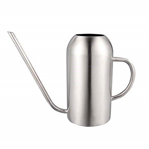 IMEEA Watering Can for Indoor House Plants Long Spout Brushed Stainless Steel