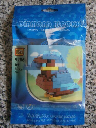 LOZ Diamond Blocks 9286 BIRD 80 pcs NEW