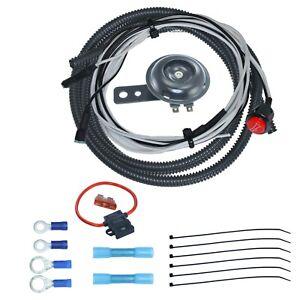 universal atv utv sxs scooter 12v 12 volt dc horn kit with button 12 Volt Wire Relay