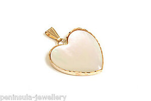 9ct Gold Amethyst Heart Shaped Necklace Pendant no chain Gift Boxed Made in UK