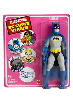 RETRO-ACTION DC SUPERHEROES BATMAN ACTION FIGURE  NM
