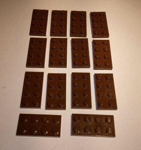 14x Lego Basis Platten 2x4 Braun Nr.4211065 Baukästen & Konstruktion LEGO Bausteine & Bauzubehör