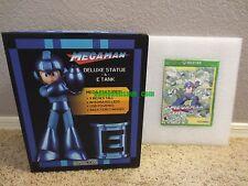 Mega Man Statue & E-Tank Legacy Collection XBOX ONE Collector's Edition Special