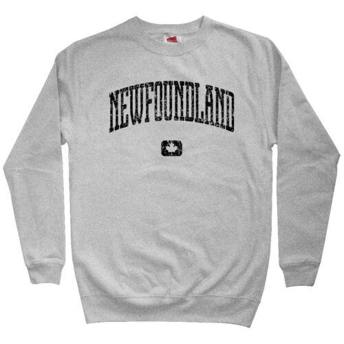 Gift Newfie St John/'s Newfoundland Canada Men/'s Sweatshirt Crewneck S-3X