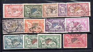 France-good-used-Merson-collection-to-20F-Cat-Val-200-WS16869