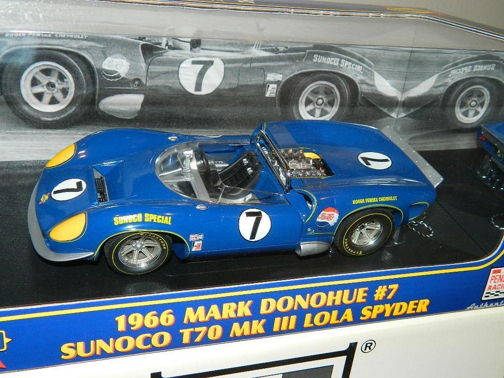 GMP LOLA 1966 T70 CHEVY Spyder  7 Mark Donohue  12007, échelle 1 18, rare New in Box, CIA