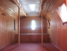 6m Oberlichtwagen - Bauwagen - Zirkuswagen - Tiny House