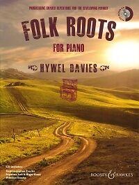 Actif Folk Roots Pour Piano Davies Livre & Cd-afficher Le Titre D'origine