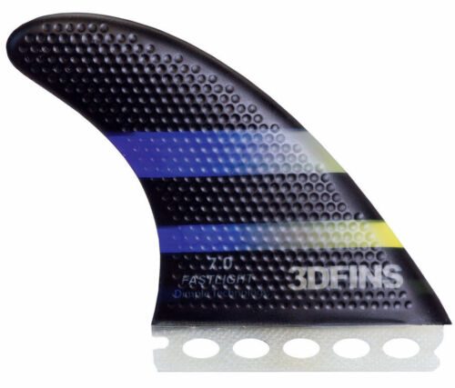 3DFins Futures Surfboard Fins - Large 7.0 Fastlight Thruster