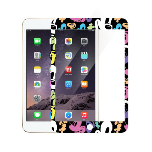 Cartoon Disney Pattern Front Tempered Glass Film Screen Protector For IPad Apple