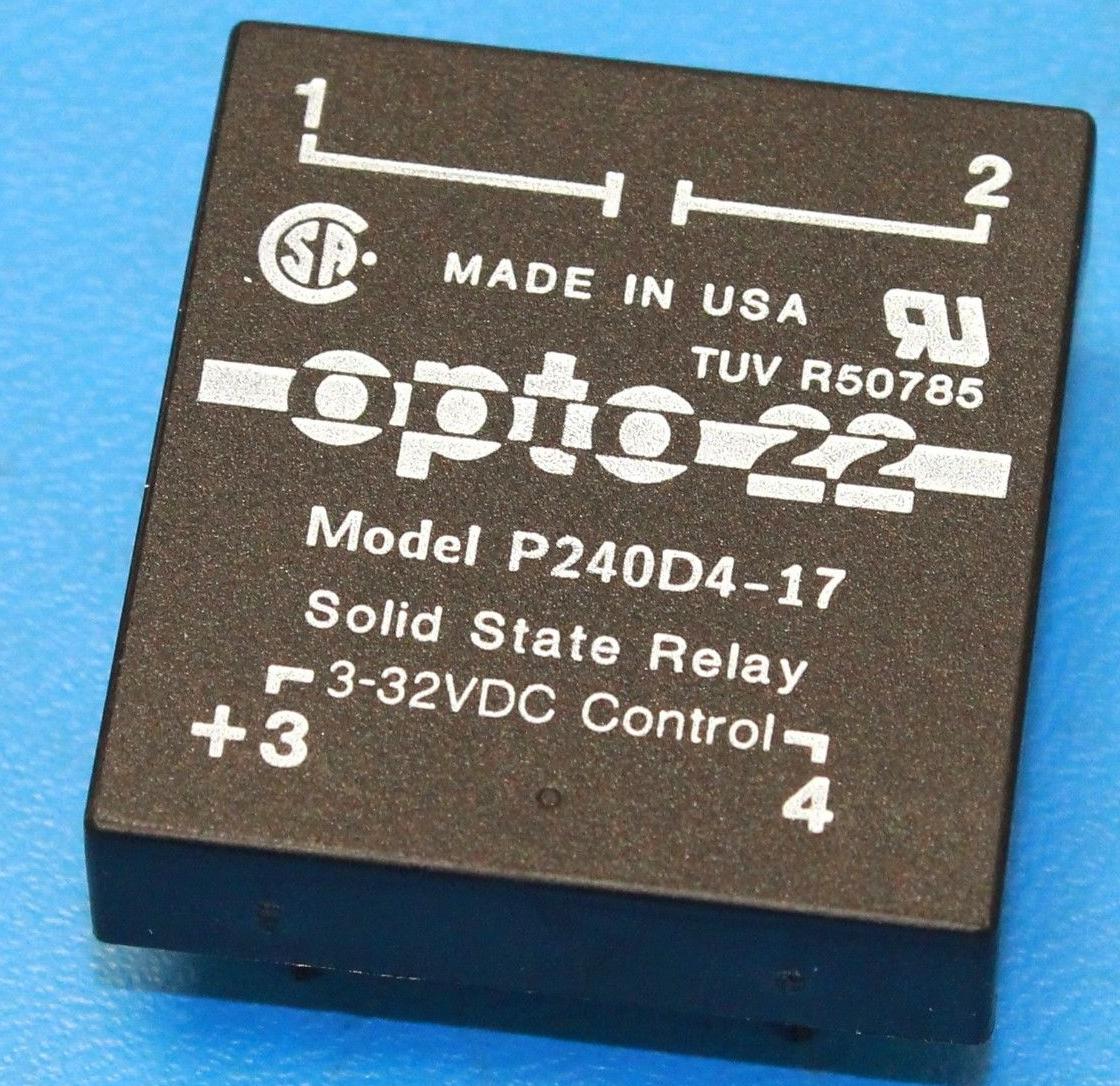 Opto 22 P240d4 Solid State Relay 4amp Ebay Norton Secured Powered By Verisign