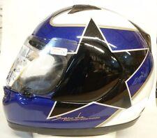 Arai Profile Springer Star Blue motorcycle helmet-Yamaha colors Long oval shape