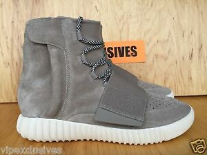 new product 483a5 09eb8 Details about Adidas Yeezy 750 Boost OG Kanye West Light Brown Carbon White  Light Brown B35309