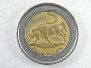 Moneda-South-Africa-5-Rand-Bimetalicos-2005-World-Coins