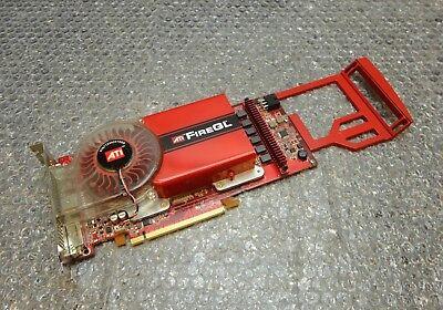 Aspirante 256mb Pci-e Dell Uh651 Precision 690 Ati Firegl V7200 Dual Dvi Scheda Grafica-