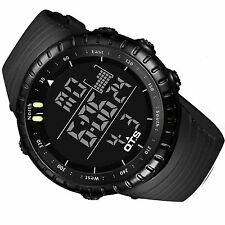 Cool Men Military Army Sport Wrist Watch Analog Digital Waterproof Wristwatch US