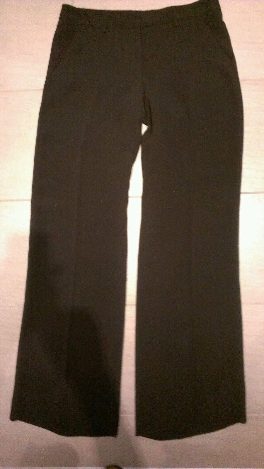 Exte Hose 100% Seide Schwarz Gr.40 bis 42 Neu Luxus, extra lang 116 cm