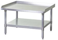 New 36x30 Equipment Stand Stainless Steel Top 16 Ga Galvanized Bottom Nsf 6963