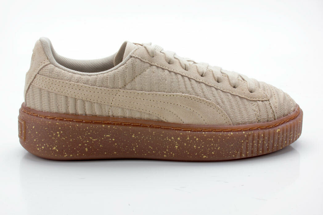 Puma Basket Platform OW Wn's 364090 02 Beige-White-Brown