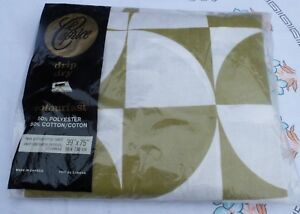 VINTAGE-FITTED-RETRO-MID-CENTURY-DESIGN-BED-SHEET-SINGLE-SIZE