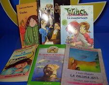 Libro 6 libros juveniles diferentes autores y editoriales-buen estado