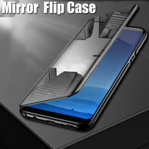Details about For OPPO F11 Pro Smart View Full Screen Touch Mirror Flip  Stand Hard Case Cover