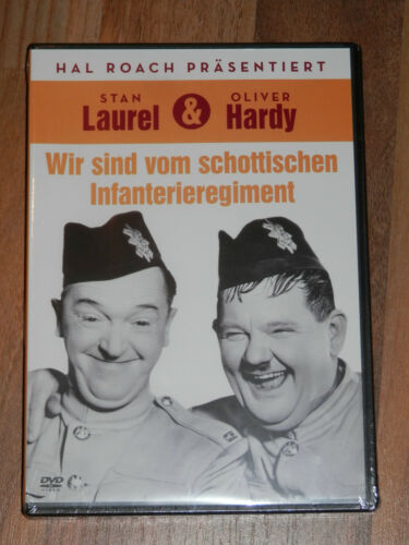 """1 von 1 - Laurel & Hardy """"Wir sind vom schottischen Infanterieregiment""""   NEU"""