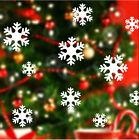 Snowflake Snow White Frozen Decal Window Wall Sticker Vinyl Art Christmas Decor