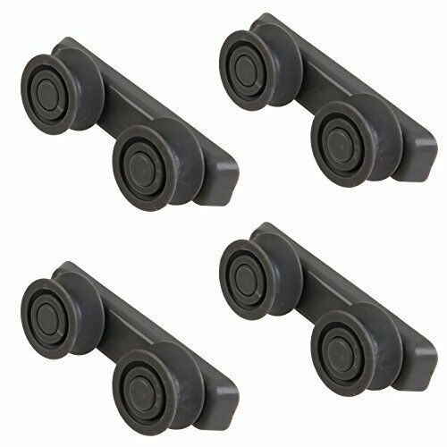4 x Rail chemin de ronde Panier Roue Support Hoover Candy HED6612//1-80 Lave-vaisselle
