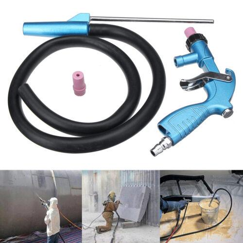 Sandblaster Air Siphon Sand Blasting Feed Blast Gun Tube Ceramic Nozzle