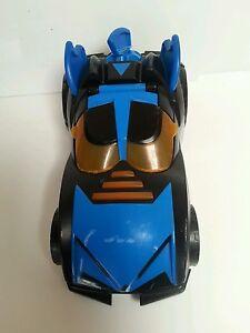BATMAN-Imaginext-Batmobile-8-034-Mattel-Non-Working-DC-Comics-Toy-Car-Vehicle