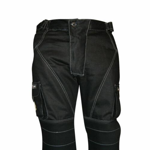 """62/"""" ginocchio imbottito Pantaloni Con Tasconi Lavoro Pantaloni Combat Abbigliamento Da Lavoro Girovita 28/"""""""