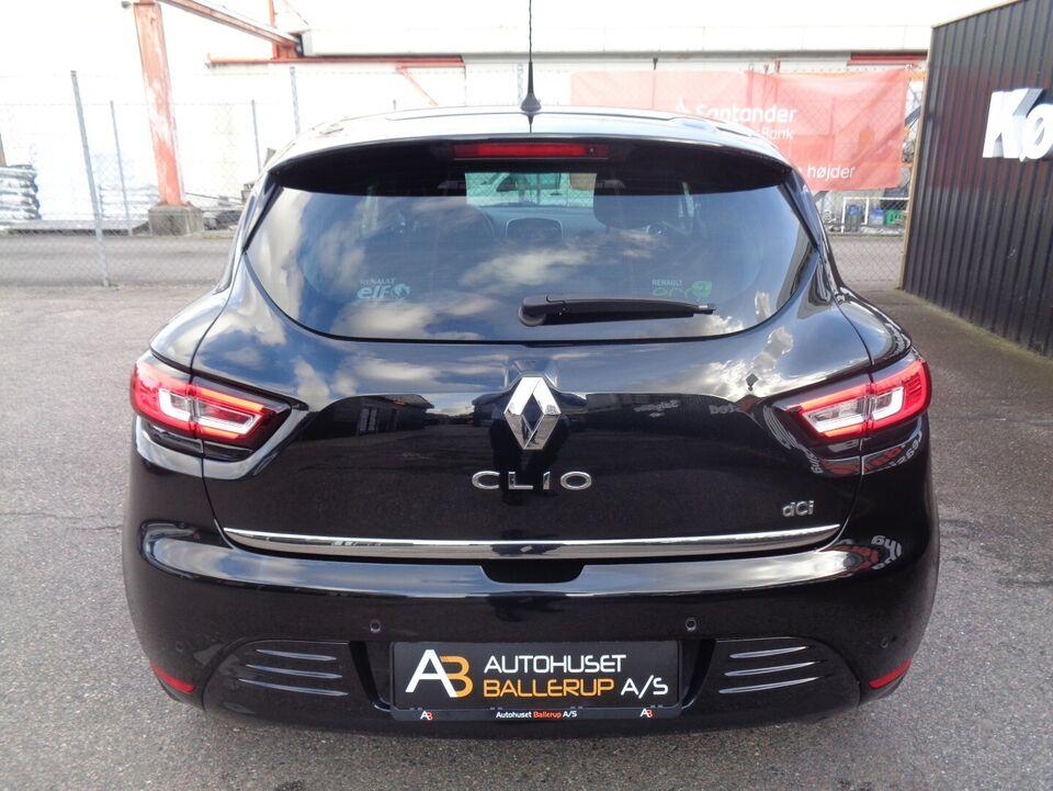 Renault Clio IV 1,5 dCi 90 Limited Diesel modelår 2017 km