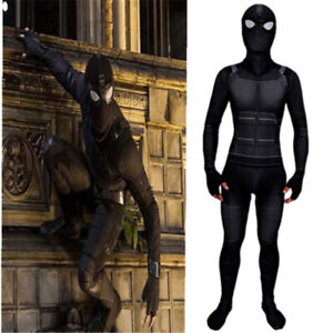 Spider-Man-Far-From-Home-Zentai-Stealth-Suit-Jumpsuit-Adult-Kids-Cosplay-Costume