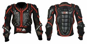 REFLACTIVE-ADULT-BODY-ARMOUR-Motorcycle-Motorbike-spine-Protector-Guard-Jacket