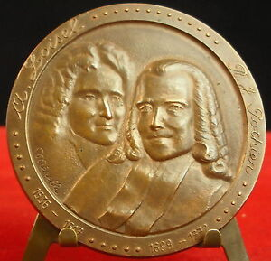 Médaille A Loisel & J Potier Signée Mérelle Medal 勋章 Notariat Notaire Caisse Des