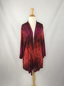 Abbigliamento Giacca Rosso Olivia Artico Dimensioni Andria Lagenlook Luogo rosa Xxl Cardigan wCqap8