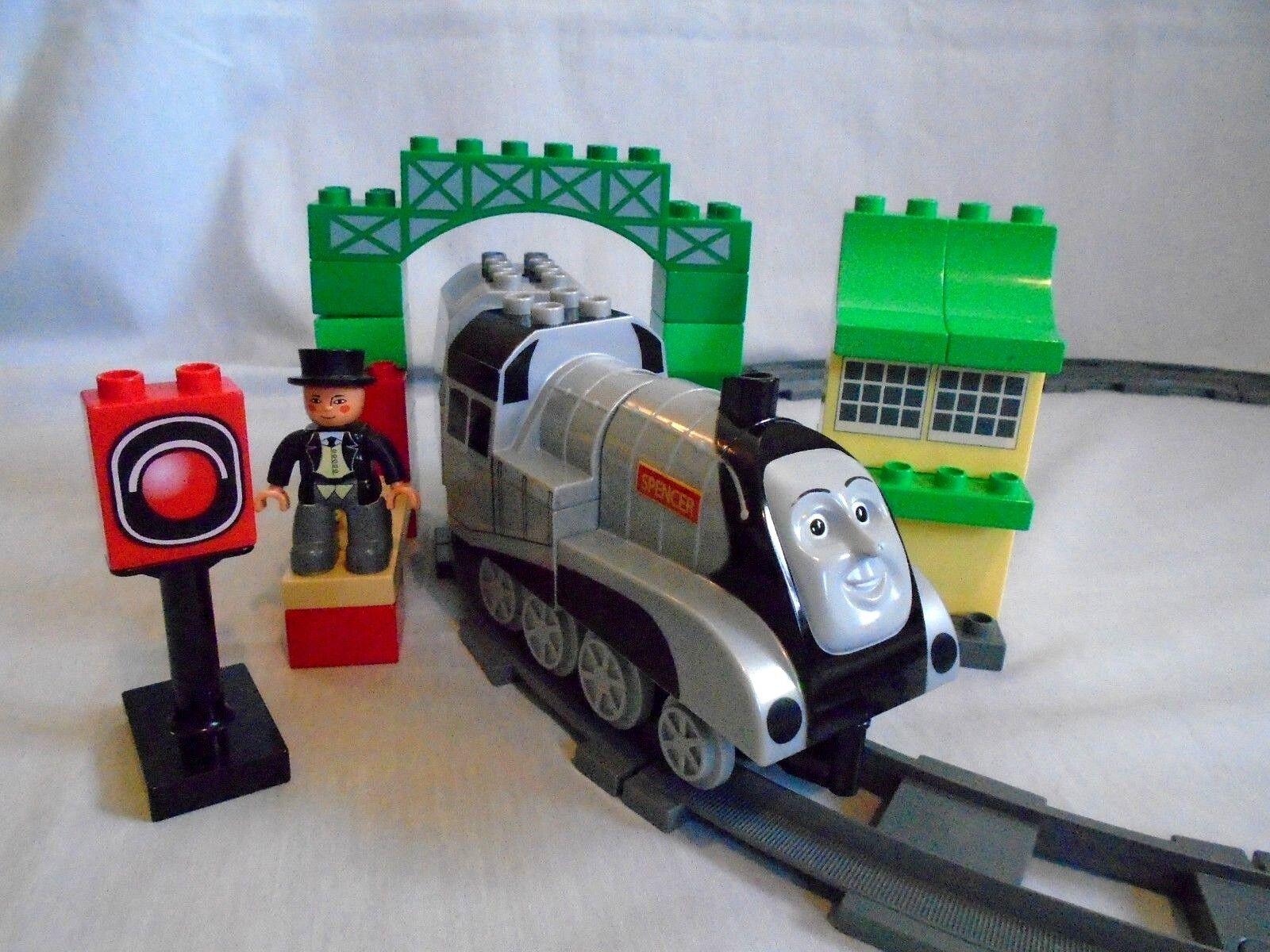 Duplo Thomas Tank Train series Set No 3353 Spencer & Sir Topham Hatt complete