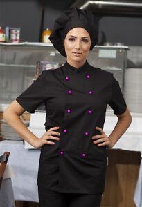 Caricamento dell immagine in corso Giacca-Cuoco-Casacca-Chef -Donna-Uomo-Cucina-Divisa- 1fab8d9bbe85