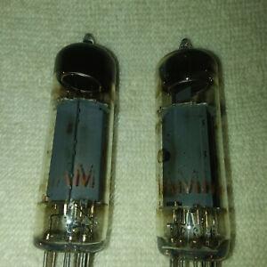 Mullard-EL84-6BQ5-Tubes-1962-Vintage-Matched-Pair