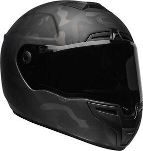 Bell-SRT-Stealth-Matt-Black-Camo-Lightweight-Fibreglass-Shell-With-Panovision