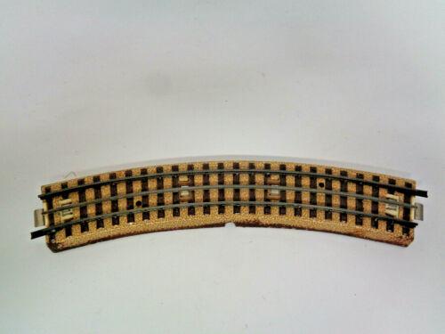 3 alte Märklin HO  Schienen  3-Leiter gebogen  180 mm