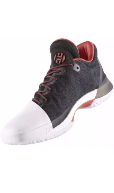 00ab92274ec Adidas James Men s Baskeball Harden Vol. 1 Pioneer Black White Red BW0546
