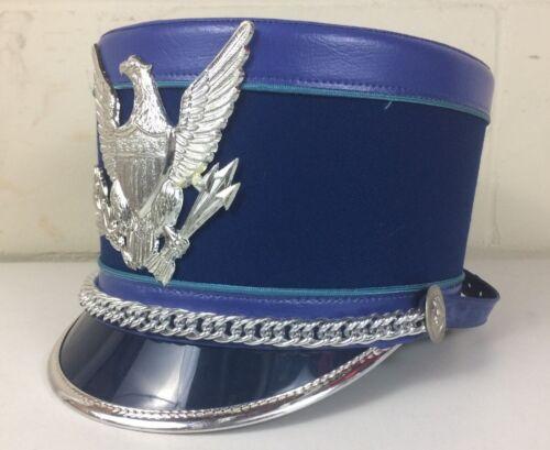 Marching Band Hat Shako Vintage Blue Bayly Inc.