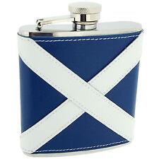 Artamis Scottish 6oz Liquor Whiskey Vodka Leather Coated Pocket Hip Flask Gift