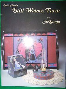 CATFISH-BENDS-STILL-WATER-FARM-BY-JO-SONJA-1986-TOLE-PAINT-BOOK-FOLK-ART