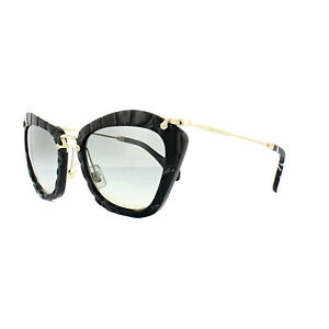7a1ab4777f8 Image is loading Miu-Miu-Sunglasses-10NS-USW3M1-Black-Light-Grey-