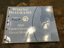 2010 Ford Crown Victoria Grand Marquis Wiring Diagrams For Sale Online Ebay