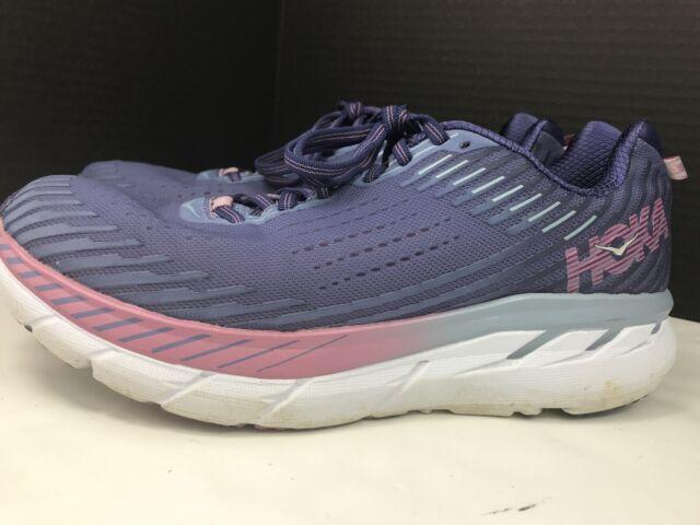 Womens Clifton 5 Purple Running Shoes