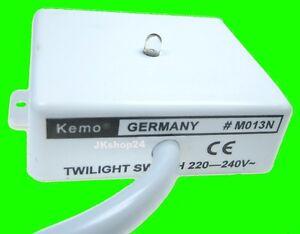 Licht Donker Sensor : Dämmerungsschalter einbau dämmerungschalter licht sensor v